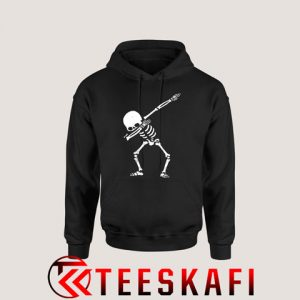 Hoodies Dabbing Skeleton Skull Dance [TB]