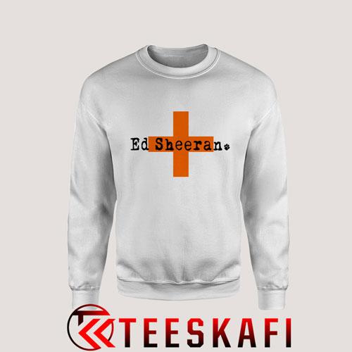 Sweatshirt Ed Sheeran Croos [TWhite]