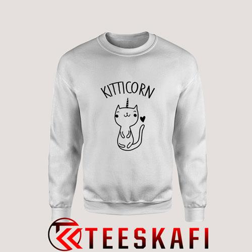 Sweatshirt Kitticorn Kitty Kitten