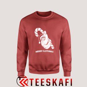 Sweatshirt Merry Slothmas