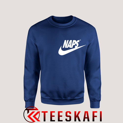 Sweatshirt Naps Nike White