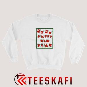 Sweatshirt 2020 Happy Cute New Year