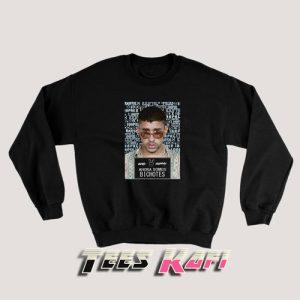 Bad Bunny X 100pre Bichotes Reggaeton Regueton Trap Sweatshirt