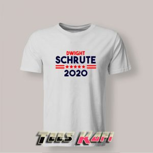 Dwight Schrute For President 2020 Tshirts Adult Size