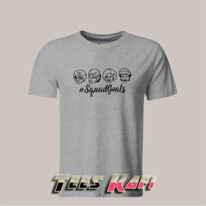 Golden Girls Squad Goals Tshirts